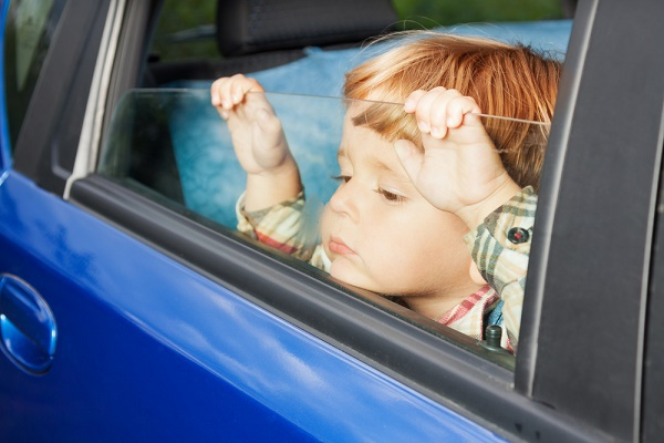 child-in-car