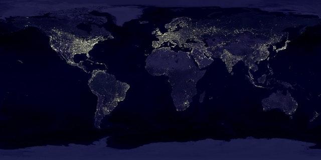 earth-earth-at-night-night-lights-41949